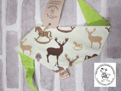 the posh dog clothing company bandanna size 2 stag 5