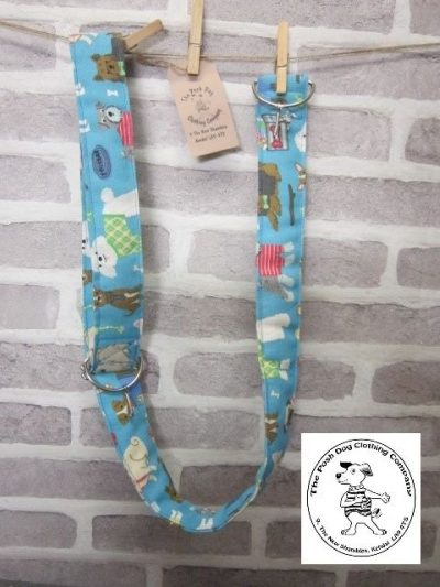 the posh dog clothing company posh dog for you camera strap blue 1