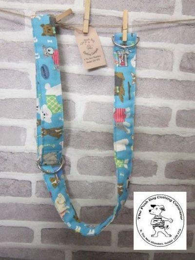 the posh dog clothing company posh dog for you camera strap blue 1