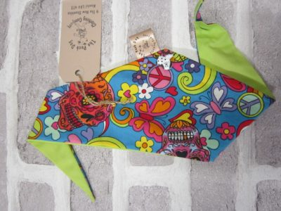 the posh dog clothing company smallbandanna sugar skull 5