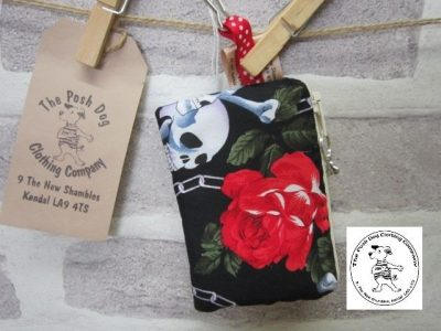 the posh dog clothing company the walkies range small treat purse 32
