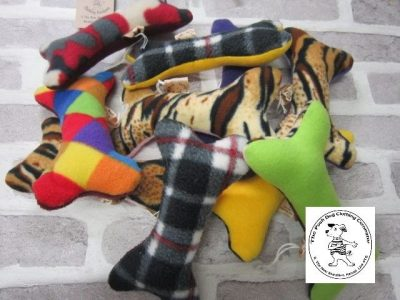 the posh dog clothing company toys bone shape toy large