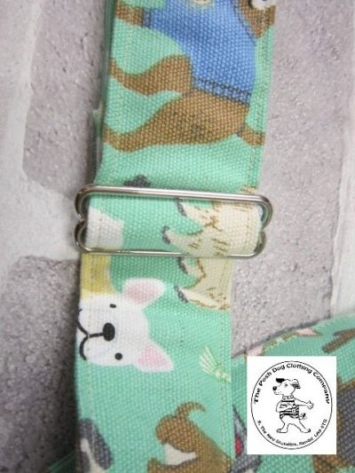 the posh dog colthing company posh dog for you camera strap green 02