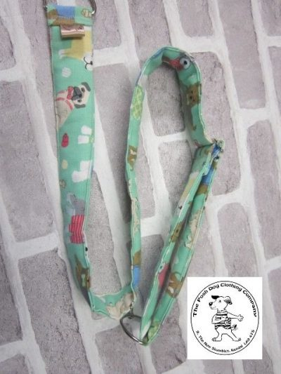 the posh dog colthing company posh dog for you camera strap green 03