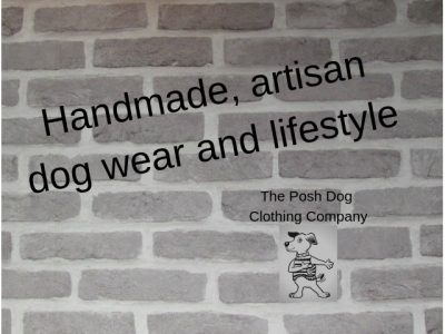 Handmade artisan dog wear and lifestyle