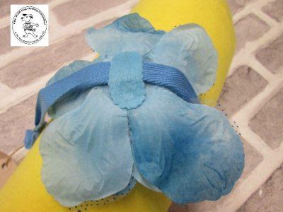 The Posh dog clothing company corsage blue rose 03