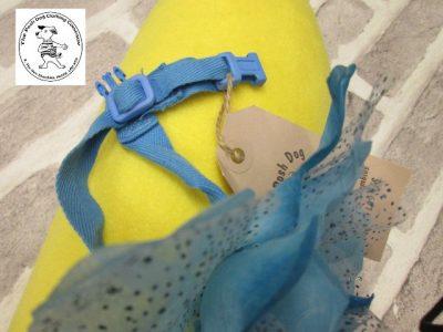 The Posh dog clothing company corsage blue rose 04