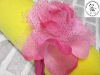 The Posh dog clothing company corsage pink rose 02