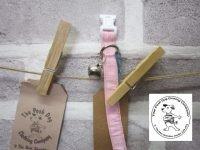 the posh dog clothing collar cat pink 3