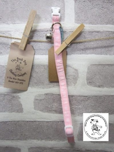 the posh dog clothing collar cat pink 4
