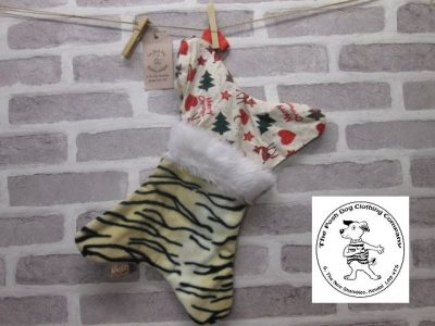 the posh dog clothing company a collars for Christmas Christmas stocking tiger bambi 1