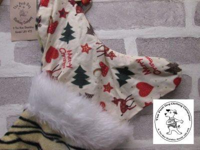 the posh dog clothing company a collars for Christmas Christmas stocking tiger bambi 2