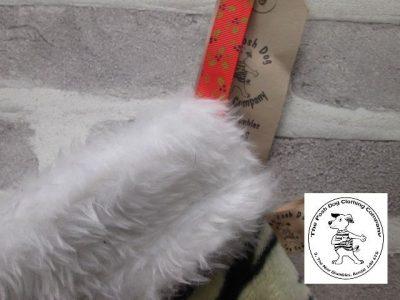 the posh dog clothing company a collars for Christmas Christmas stocking tiger paw large 3