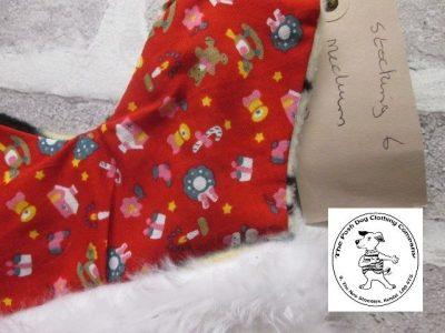 the posh dog clothing company a collars for Christmas Christmas stocking tiger red 4