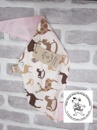 the posh dog clothing company bandana size 3 rocking horse 4