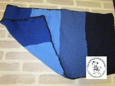 the posh dog clothing company blanket small blue 1