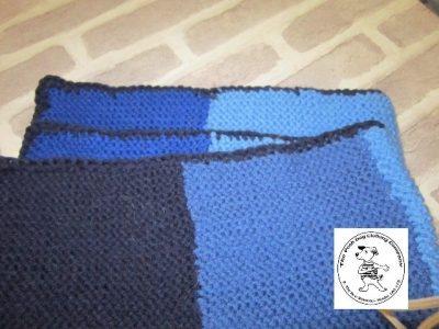 the posh dog clothing company blanket small blue 2