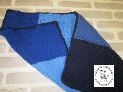 the posh dog clothing company blanket small blue 3