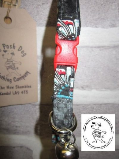 the posh dog clothing company cat collar aztec 02
