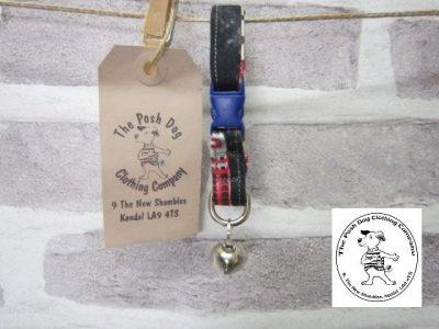 the posh dog clothing company cat collar aztec 06