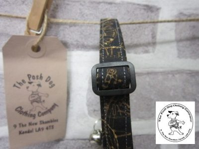 the posh dog clothing company cat collar clock 01