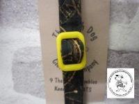 the posh dog clothing company cat collar clock yellow 02