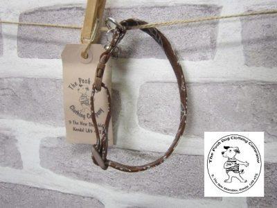 the posh dog clothing company cat collar leaf 01