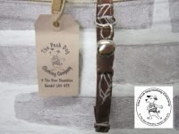 the posh dog clothing company cat collar leaf 04