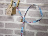 the posh dog clothing company cat lead blue 4