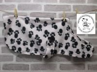 the posh dog clothing company fleece coat paws 01
