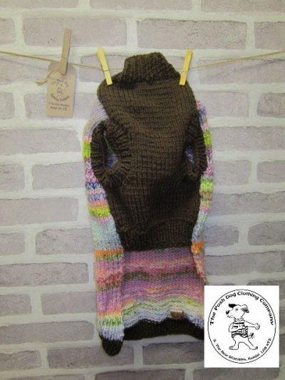 the posh dog clothing company joseph jumper large brown 4