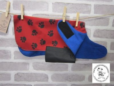 the posh dog clothing company red blue