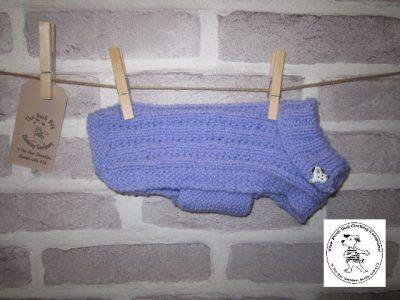 the posh dog clothing company small blue jumper 2