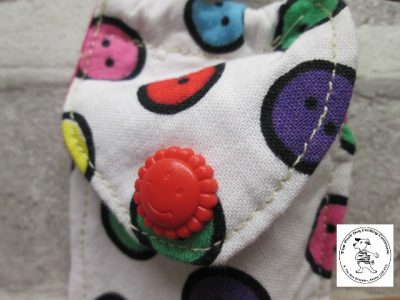 the posh dog clothing company walkies range lip salve buttons 3