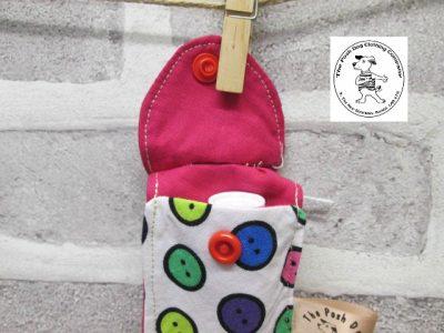 the posh dog clothing company walkies range lip salve buttons 5