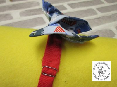 the posh dog clothing company bow tie blue boats red 04