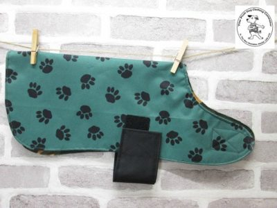 the posh dog clothing company waterproof green camo 01