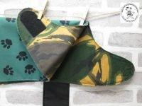 the posh dog clothing company waterproof green camo 02