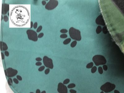 the posh dog clothing company waterproof green camo 03
