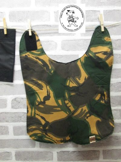 the posh dog clothing company waterproof green camo 04