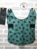 the posh dog clothing company waterproof green camo 05