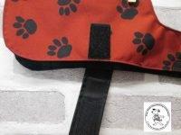 the posh dog clothing company waterproof red blackwatch 02