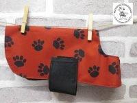 the posh dog clothing company waterproof red watch 01