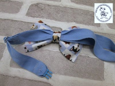 the posh dog clothing company bow tie blue dogs blue 02