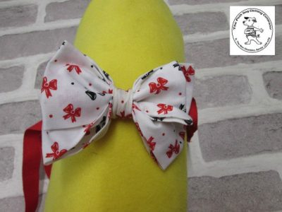 the posh dog clothing company bow tie bows red 01