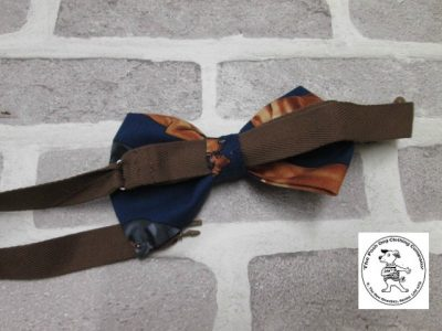 the posh dog clothing company bow tie brown dog brown 03