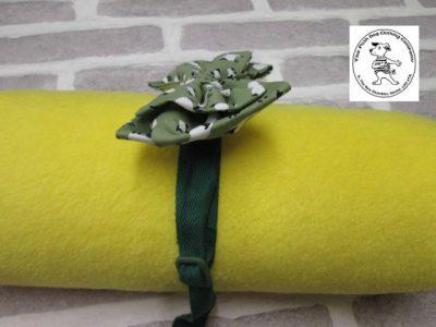 the posh dog clothing company bow tie green sheep green 02