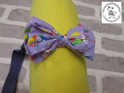 the posh dog clothing company bow tie lilac foxs purple 01
