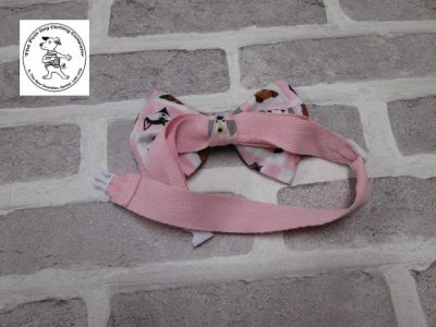 the posh dog clothing company bow tie pink dogs pink 03