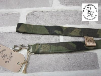 the posh dog clothing company fabric lead green camo 2